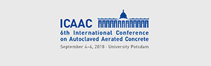 ICAAC 6th International Conference on Autoclaved Aerated Concrete